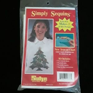Sulyn Other - Simply Sequins Sweatshirt Decorating Kit